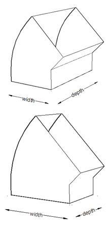 45 Deg Rectangular Duct Bends Rectangular Ductwork