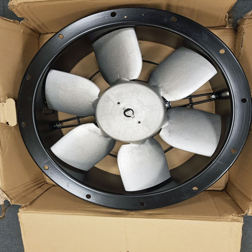 P&G Fabrications (Essex) Ltd  500mm Dia Compact Cased Axial Fan