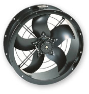 Compact Cased Axial Flow Fans - Single Phase   Ventilation Fans