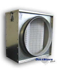 Duct Filter Boxes Galvanised Filter Boxes With Filter
