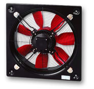 400mm Dia Plate Mounted Axial Fan - Single Phase