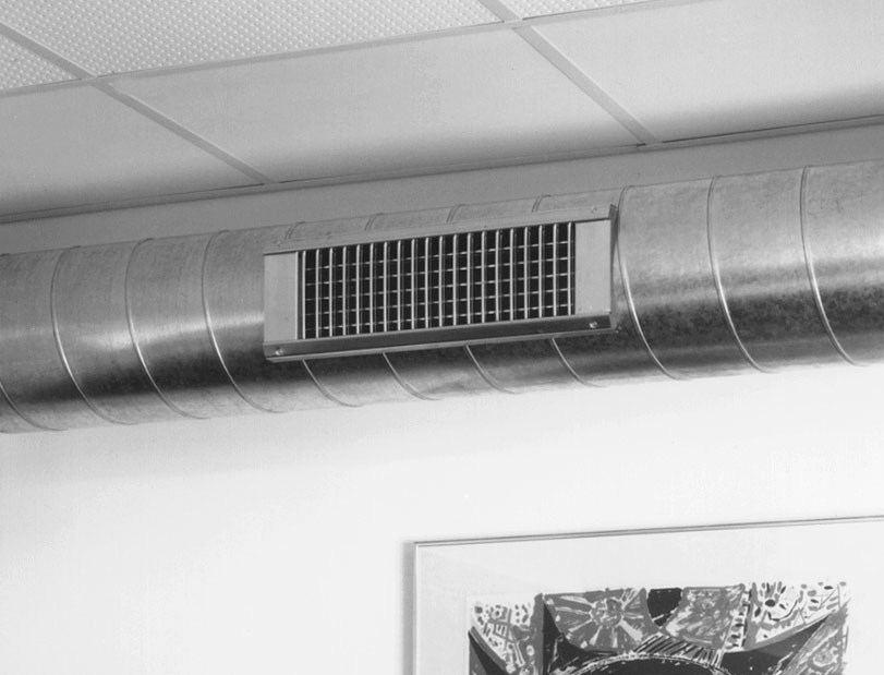 P g fabrications essex ltd lindab spiral duct grille