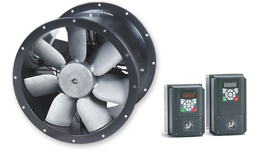Contra-Rotating Axial Fan & Inverter Three Phase Package | Fans