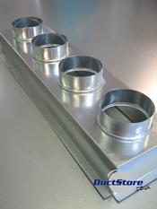 Four Spigot Plenum Boxes Grille Boxes Duct Supplies