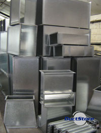 Ductwork Ducting Suppliers Galvanized Rectangular Ducting