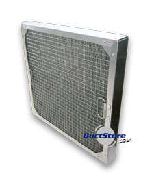 Mesh Grease Filters For Commercial Kitchen Extraction 25mm
