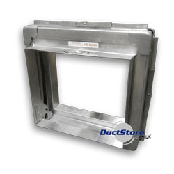 Rectangular Fire Dampers with Frame 350mm | Rectangular Ducting
