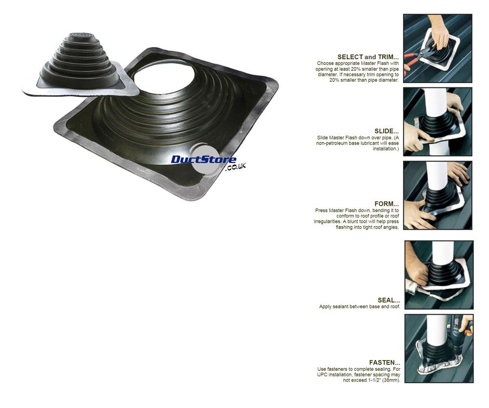 P Amp G Fabrications Essex Ltd Maxi Masterflash Epdm Flashing