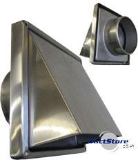 Exterior Wall Vents Metal on metal door vents, metal foundation vents, metal crawl space vents, brick wall vents, roof wall vents, metal air vent covers,