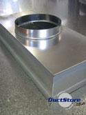Plenum Boxes Rectangular Galvanised Mild Steel Buy Online
